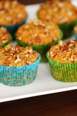 Oatmeal Pecan Muffins